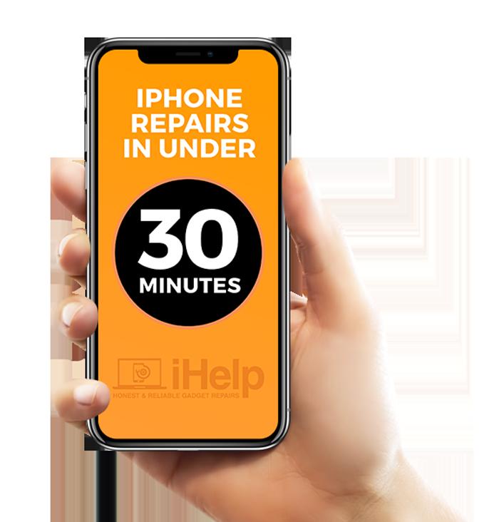 iPhone repairs in under 30 minutes